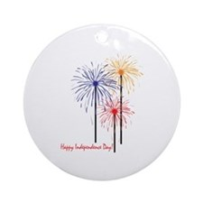 Happy Independence Day! Ornament (Round)