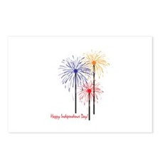 Happy Independence Day! Postcards (Package of 8)