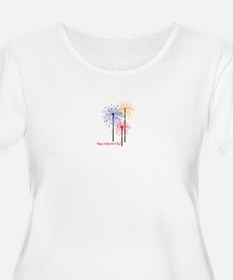Happy Independence Day! Plus Size T-Shirt