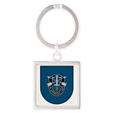 19th Special Forces Square Keychain
