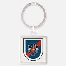 20th Special Forces Square Keychain