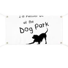 Dog Park Banner
