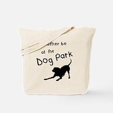 Dog Park Tote Bag