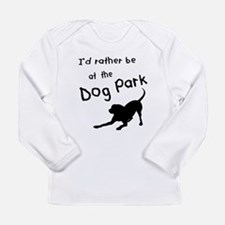 Dog Park Long Sleeve Infant T-Shirt