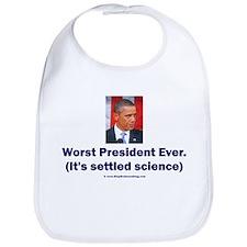 Worst President Ever v2 Bib