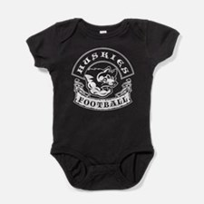 Huskies Football Baby Bodysuit