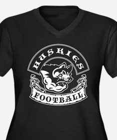 Huskies Football Plus Size T-Shirt