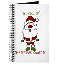 Cookie Santa Claus Journal