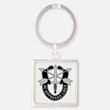 Special Forces Square Keychain
