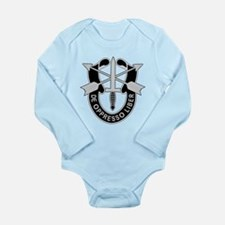 Special Forces Long Sleeve Infant Bodysuit