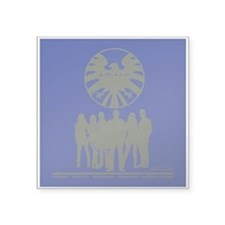 "Agents of Shield Group Pose Square Sticker 3"" x 3"""