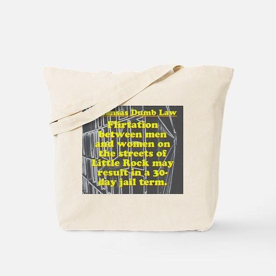 Arkansas Dumb Law 007 Tote Bag