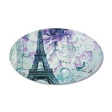 stamps purple floral modern paris eiffel tower Dec