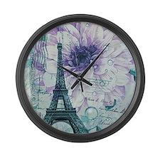 stamps purple floral modern paris eiffel tower Lar