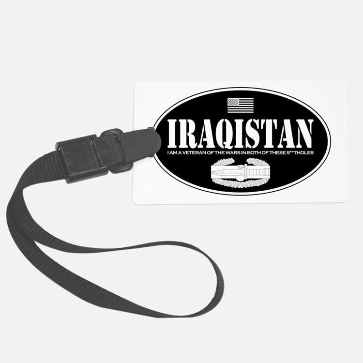 Iraqistan CAB Luggage Tag