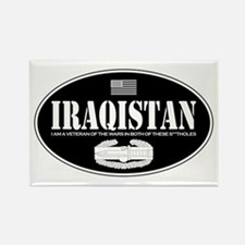 Iraqistan CAB Rectangle Magnet
