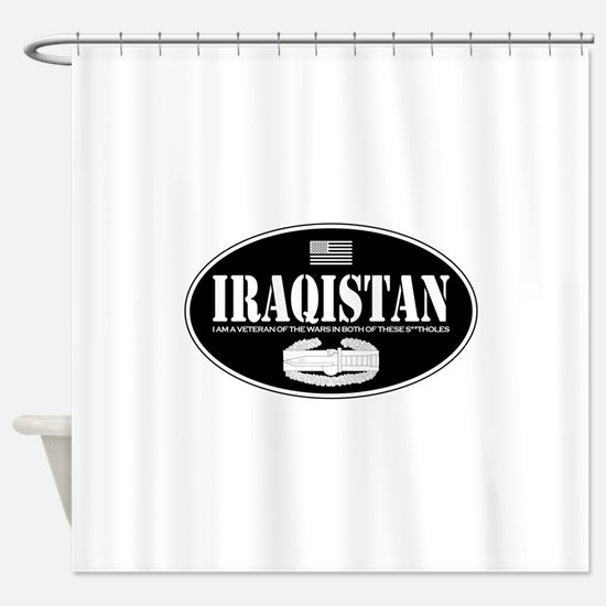 Iraqistan CAB Shower Curtain