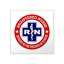 Registered Nurse (red-blue) Sticker