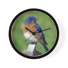 Bluebird Wall Clock