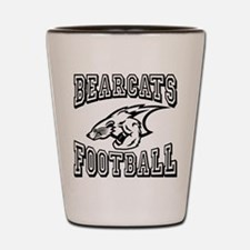 Bearcats Football Shot Glass