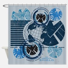 Agents of Shield Shower Curtain