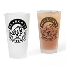 Bearcats Football Drinking Glass