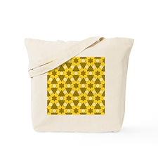 Pattern Chris golden Tote Bag
