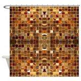 Brown Shower Curtains