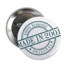 "Made in 2001 2.25"" Button"