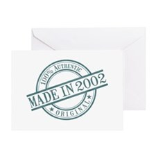 Made in 2002 Greeting Card
