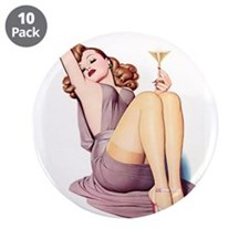 """Sexy Pin Up 3.5"""" Button (10 pack)"""
