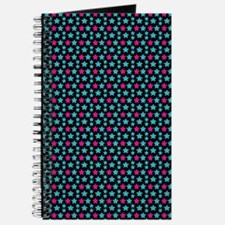 Colourful Star Pattern Journal