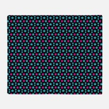 Colourful Star Pattern Throw Blanket
