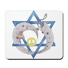 Peace Beats Mousepad