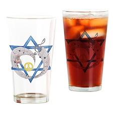 Peace Beats Drinking Glass