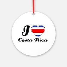 I love Costa rica Ornament (Round)