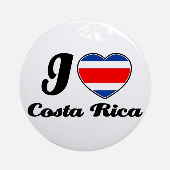 I love Costa rica Ornament (Round)