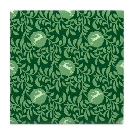Tannenbaum Porcelain Tile Coaster