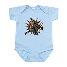 Boxing Knockout Fight Infant Bodysuit