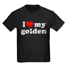 I love my Golden Retriever T