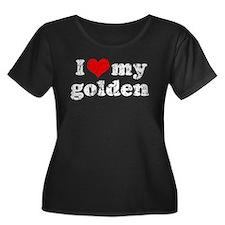 I love my Golden Retriever T