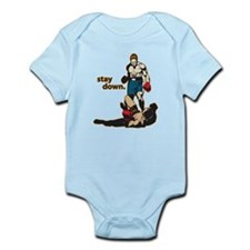 Stay Down Boxing Infant Bodysuit
