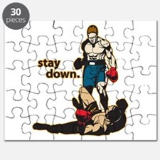 Stay Down Boxing Puzzle