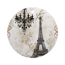 chandelier modern paris eiffel tower art Ornament