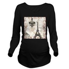 chandelier modern paris eiffel tower art Long Slee