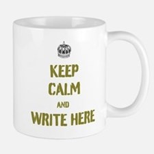 Keep Calm customisiable Mugs
