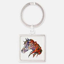 Wild Horse Keychains