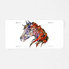 Wild Horse Aluminum License Plate