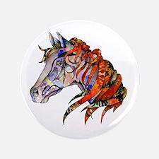"Wild Horse 3.5"" Button (100 pack)"