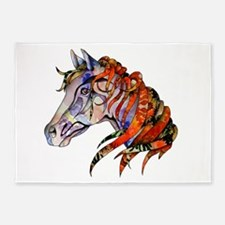 Wild Horse 5'x7'Area Rug